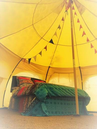 Stylishly Furnished Belle Tents
