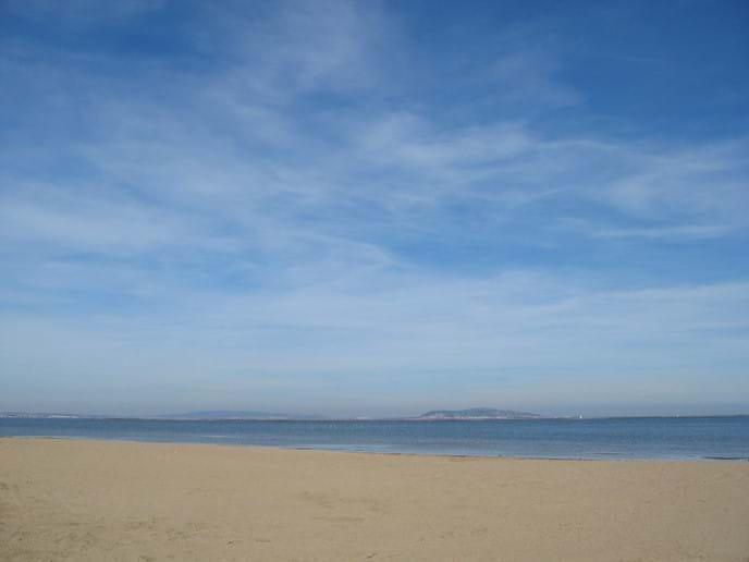 Local beach (plagette) a few minutes walk