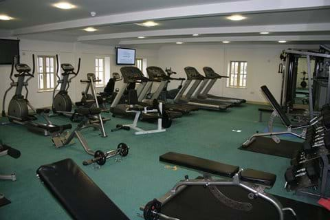 The Gym with Sauna and Steam Room
