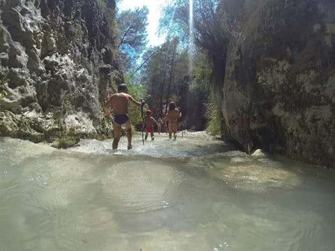 Walking the Chillar Gorge in summer.