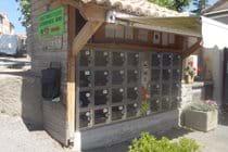 Vegetable vending machine, Montolieu
