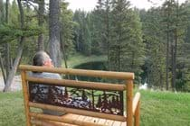 A perfect place to relax and renew or just enjoy the lake view