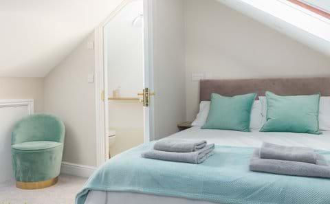 Double bedroom with ensuite bathroom Isle of Man