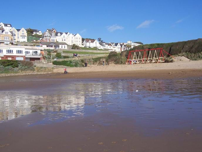 Woolacombe beach (village end)