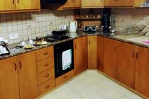 HideAways kitchen and open plan living area is fully equipped