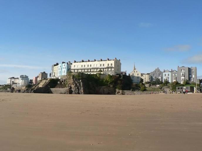 Castle Beach, Tenby