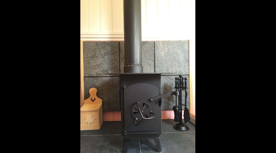 Wood burner for those chillier nights
