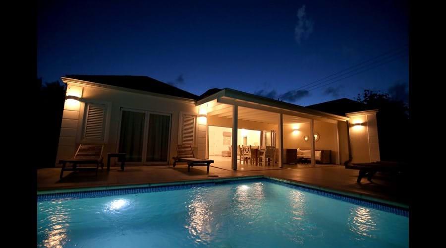 Driftwood Villa, Mullins, Barbados - Pool Terrace