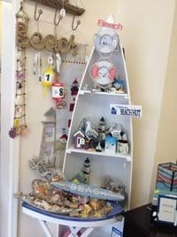 A selection of seaside giftware
