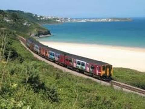 The scenic St Ives branch line.