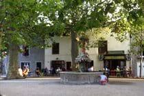Village fountain, Montolieu