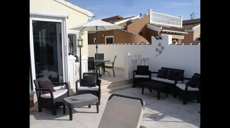 Chill out in the evenings on the Pool Terrace
