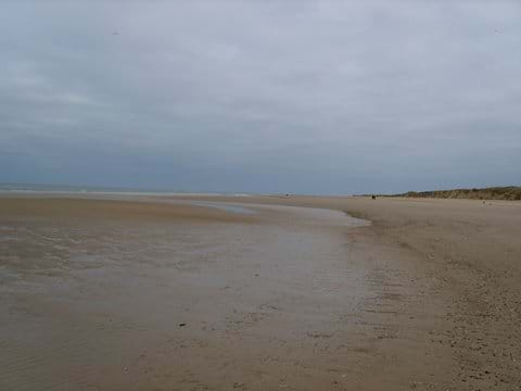 Holkham Beach at low tide
