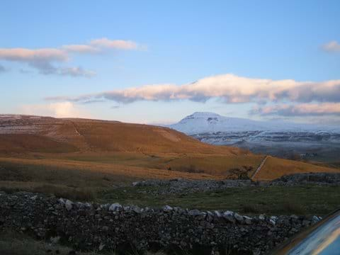 Plenty of fabulous walks on the lower ground when the snow covers the tops