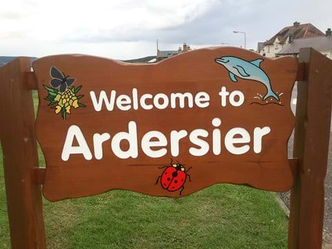 Welcome to Ardersier sign