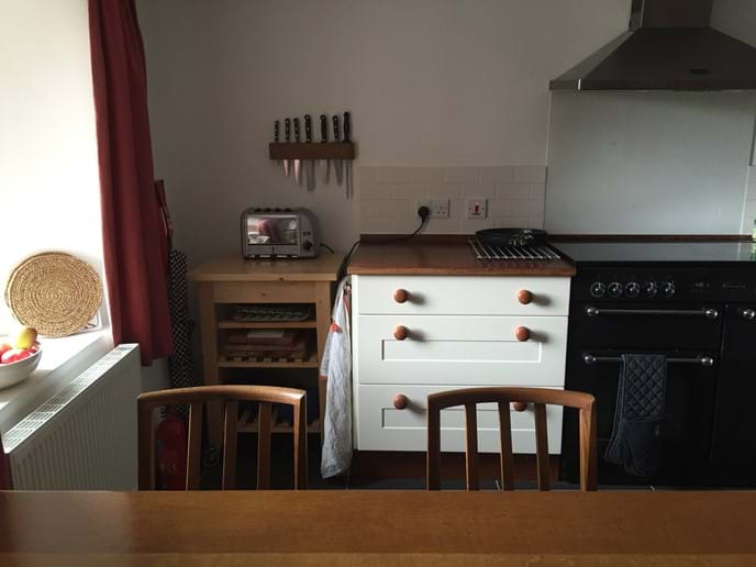 Crab Cottage  - part of the kitchen area