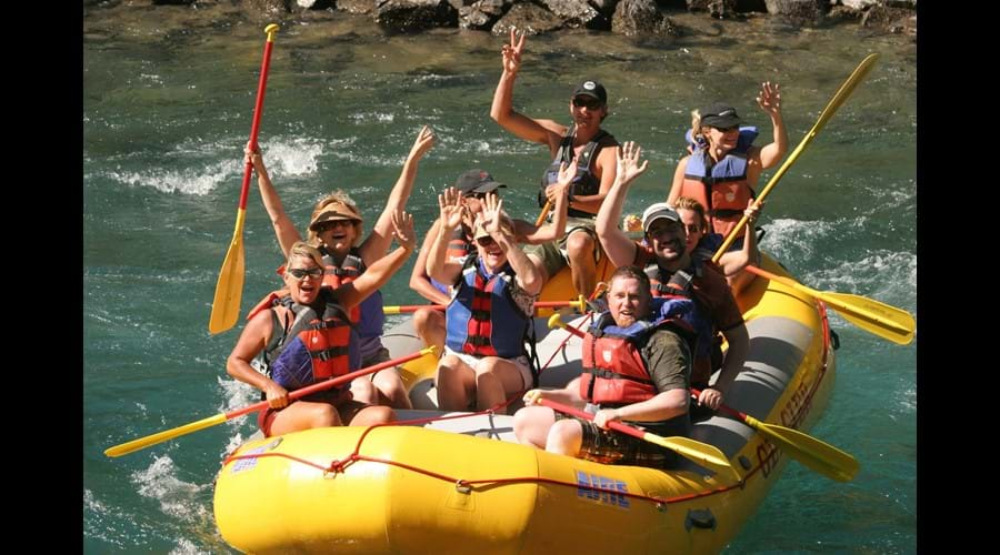 Ride the rapids on Flathead River, MT
