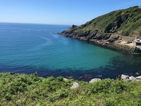 Lamorna Cove - miles of walking via South West coastal path