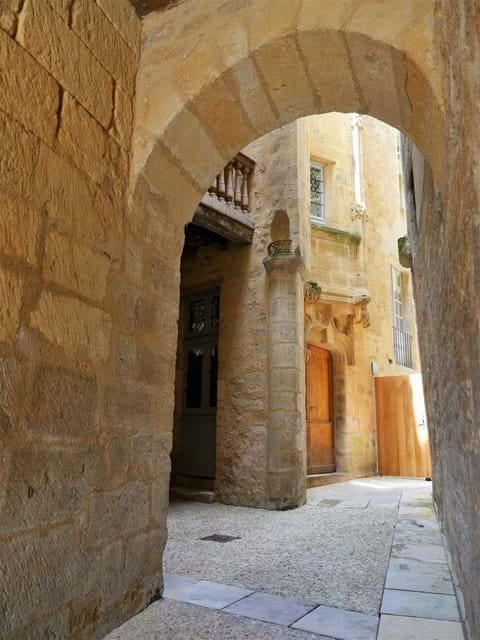 Inward courtyard