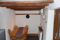 Cottage dining area seats 6  - great place to eat and share a bottle of wine