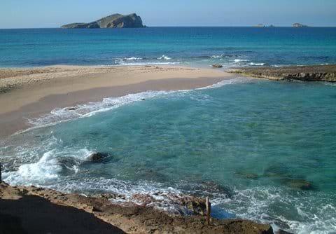 Cala Conta - a local beach