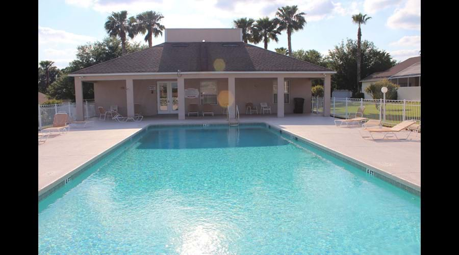 Larger community pool - 5 minutes walk