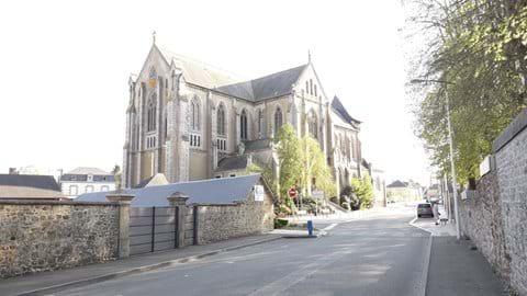St Georges Church Villaines-la-Juhel