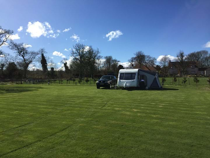 Templehall Caravan and Motorhome Club CL Site