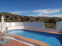 Casa Las Palomas 4 Bedroom House Swimming Pool and View from Terrace.