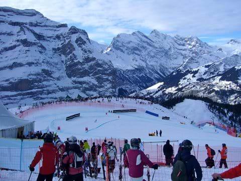 World class skiing