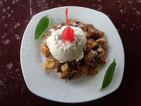 """""""Kaiserschmarrn"""" - Bavarian dessert"""