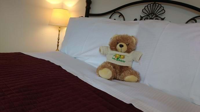 Comfortable beds and crisp bedlinen