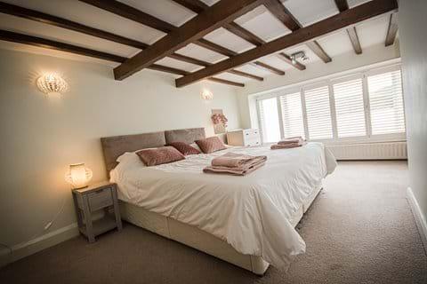 Double bedroom Port Erin beach, or twin beds