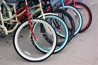 Use ours, bring your own or hire bikes