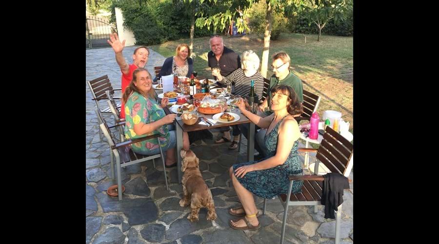October Al Fresco Dining.