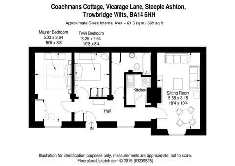 Coachmans Holiday Cottage Steeple Ashton Wiltshire BA14 6HH UK