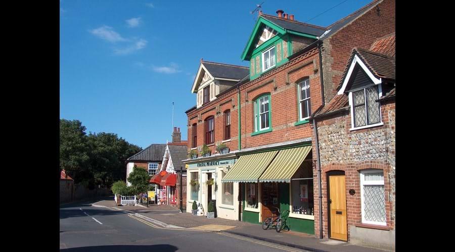 Mundesley high street