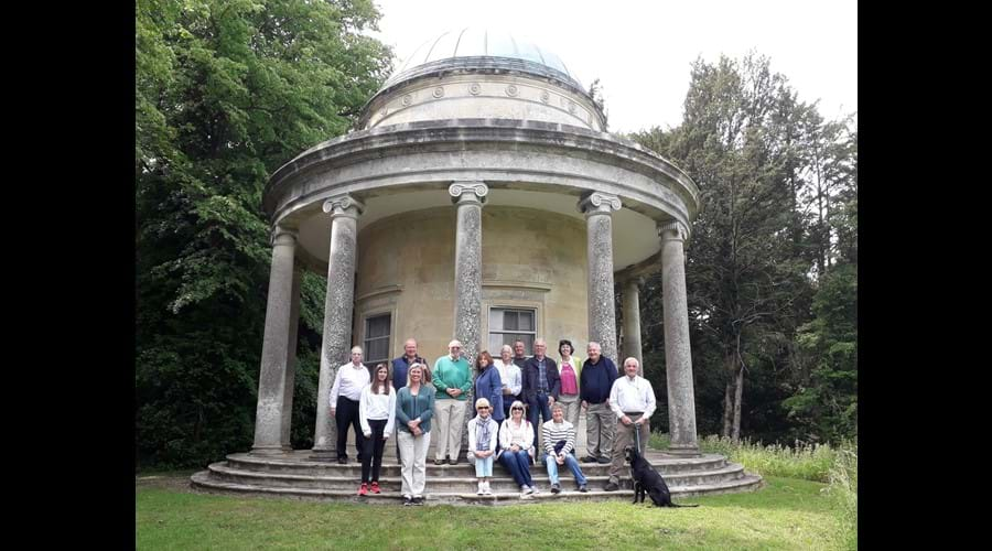 Visit to Audley End Iron Age Fort & the Temple of Victory on 9 June 2019