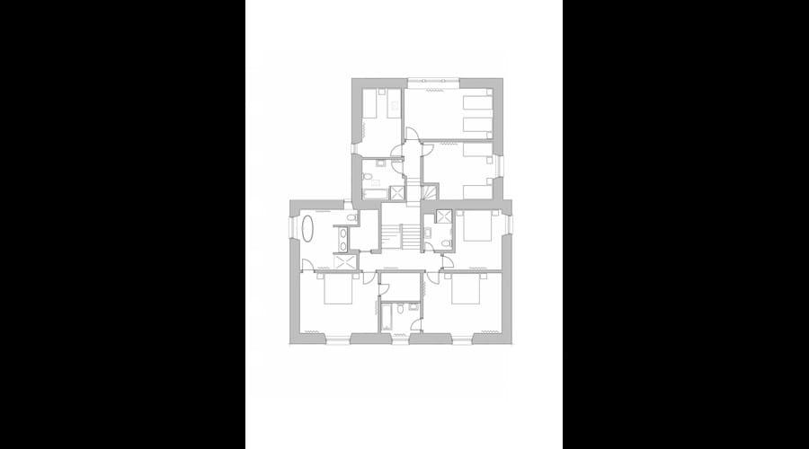 Balgedie House Upstairs Floor Plan