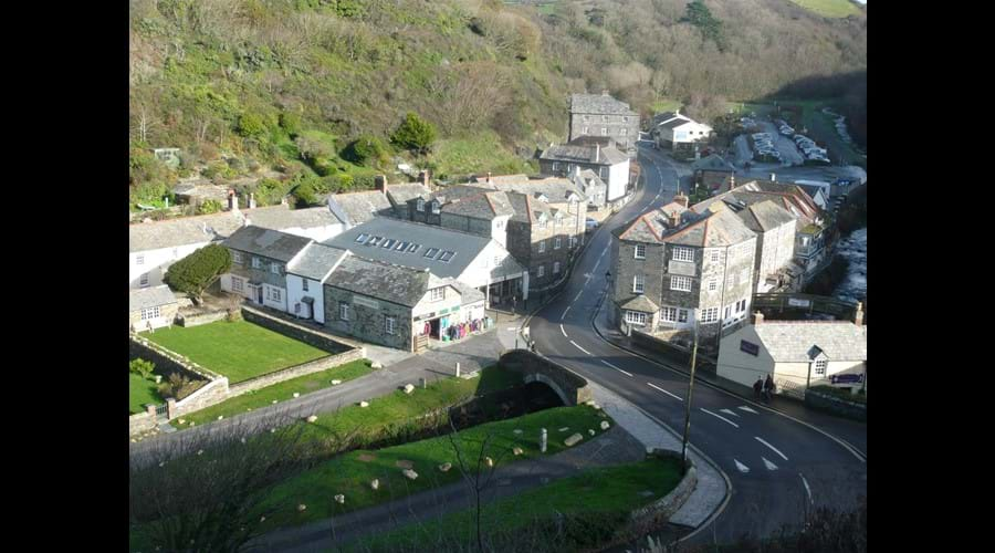Boscastle Village
