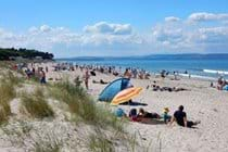 Costa del Nairn's Central Beach on a scorching hot July day!