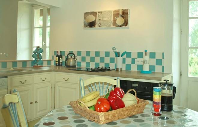 Le Moulin de Bardeas - kitchen