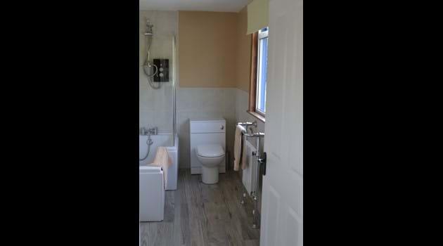 Bathroom upstairs.