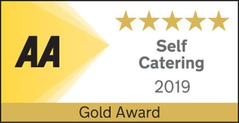 5 STAR GOLD 2019 AWARD FROM THE AA