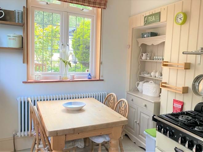 kitchen table for informal dining