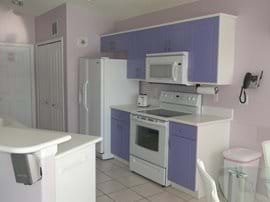Kitchen with Ceramic topped cooker