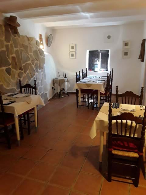 Our Far Dining Area NOW with our Covid and Social Distancing Restrictions in Place.