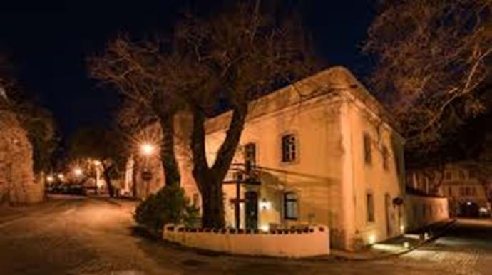 Caldas de Monchique at night