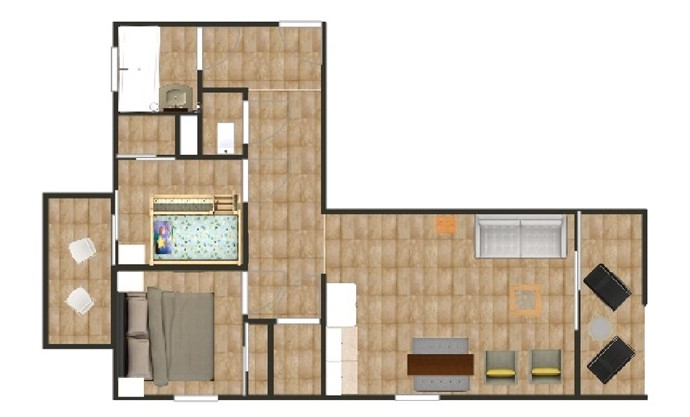 The floor plan of The Astor. Underground private parking and ski locker/cave also available for your use.
