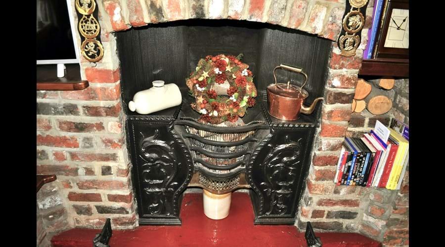 Ornamental Georgian fireplace
